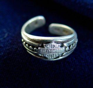 Harley-Davidson® Stamper sterling silver toe ring $24.50 eBay ...