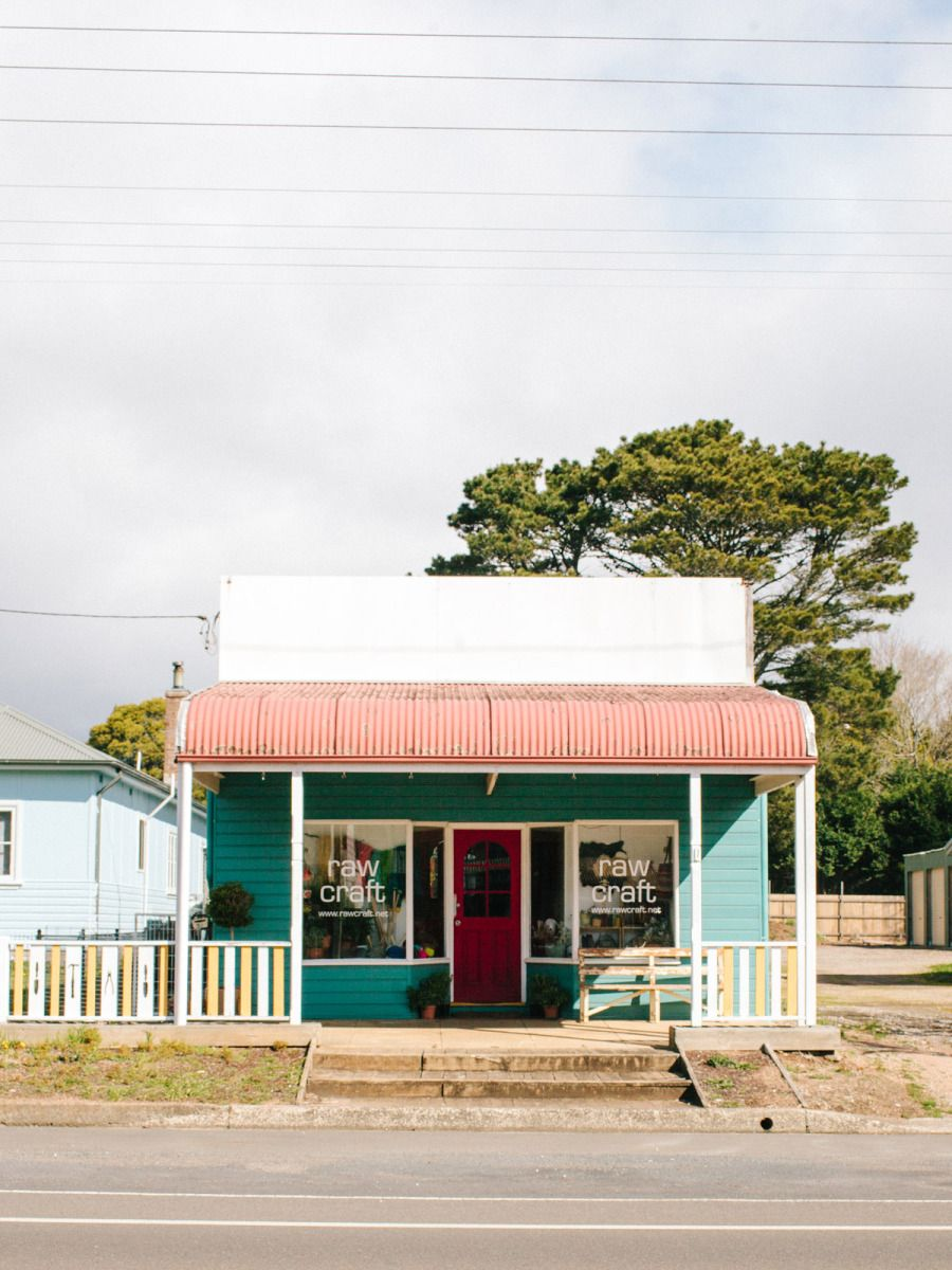 Raw Craft, a brand new craft supplies store in Robertson, NSW. Photo - Rachel Kara for The Design Files.