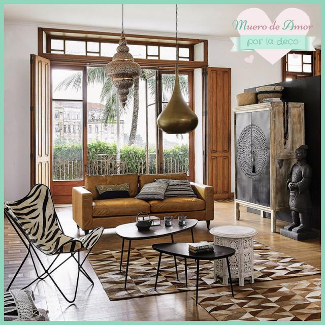 Mesitas auxiliares para todos los estilos muebles for Muebles estilo etnico