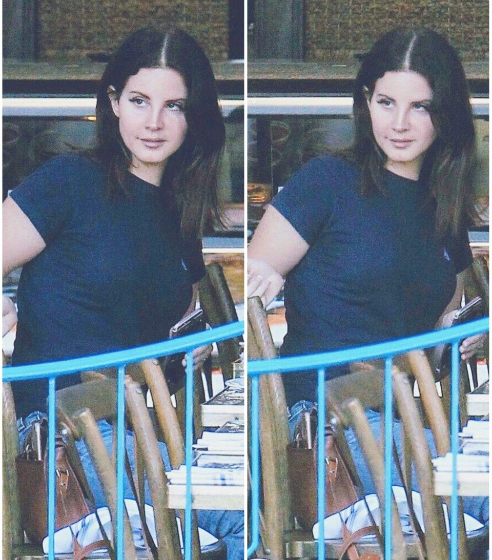Oct4 2017 lana del rey spotted in west hollywood sporting her new lana del rey spotted in west hollywood sporting her new haircut and new top from her lust for life merch winobraniefo Choice Image