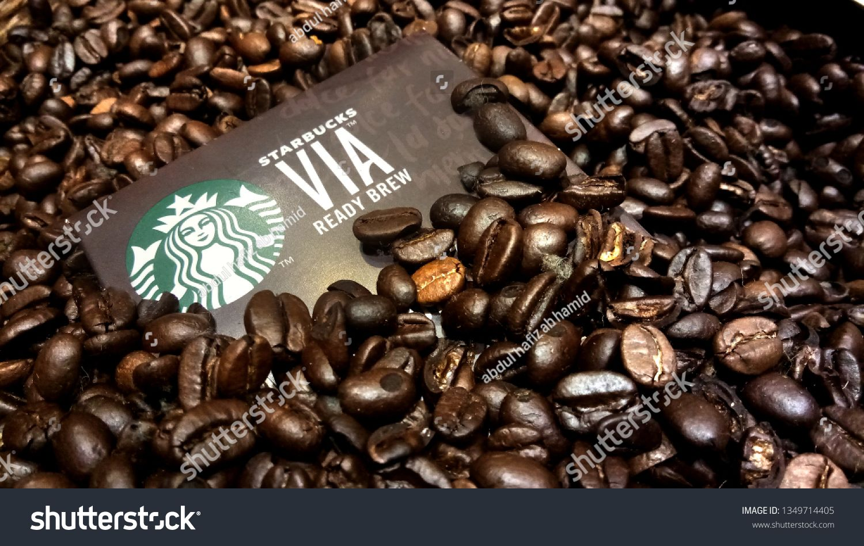 Kuala Lumpur Malaysia March 26 2019 Dark Roast Coffee Bean From Arabica Coffee Bean By Starbuc Dark Roast Coffee Arabica Coffee Beans Roasted Coffee Beans