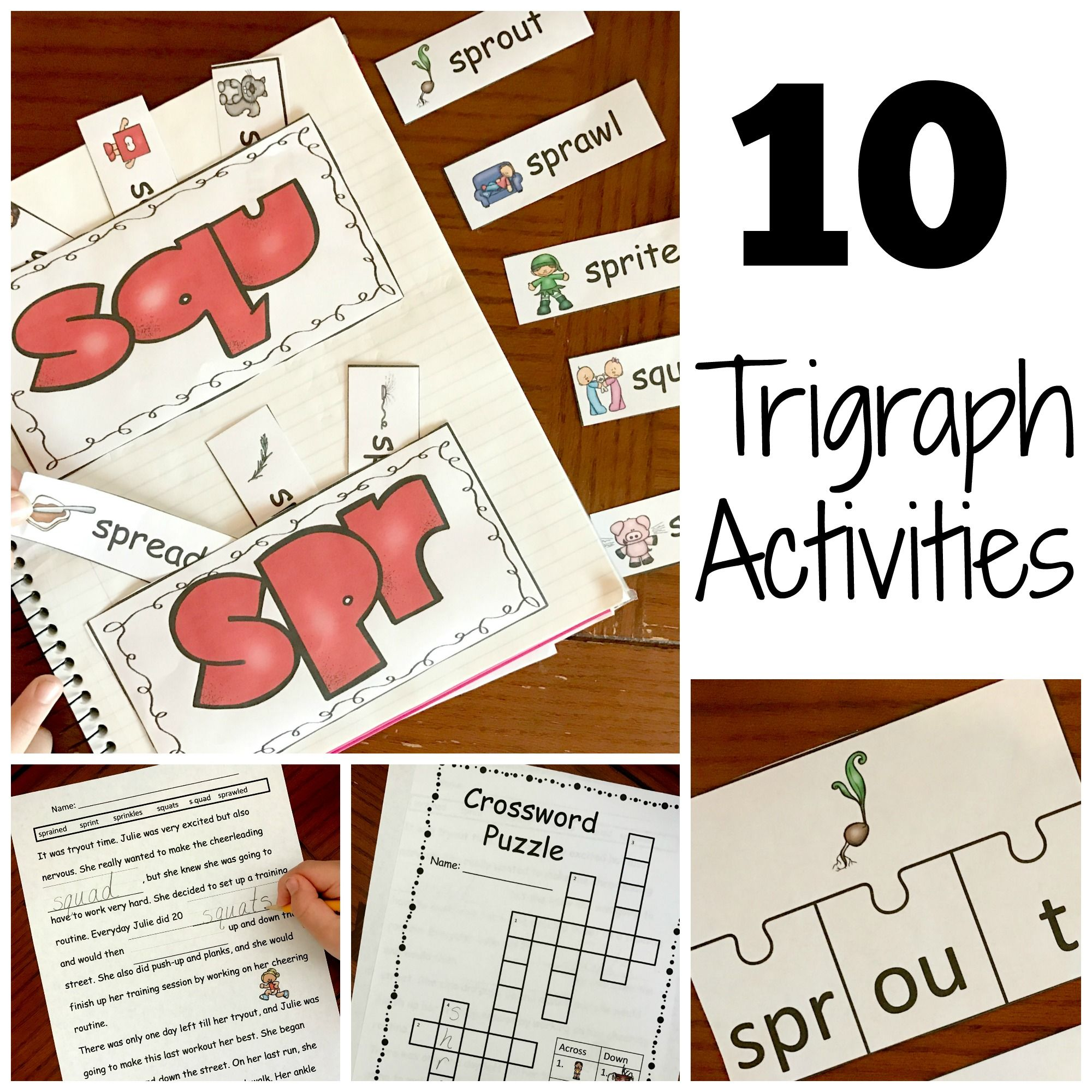 15 Hands On And Fun Trigraph Activities Consonant