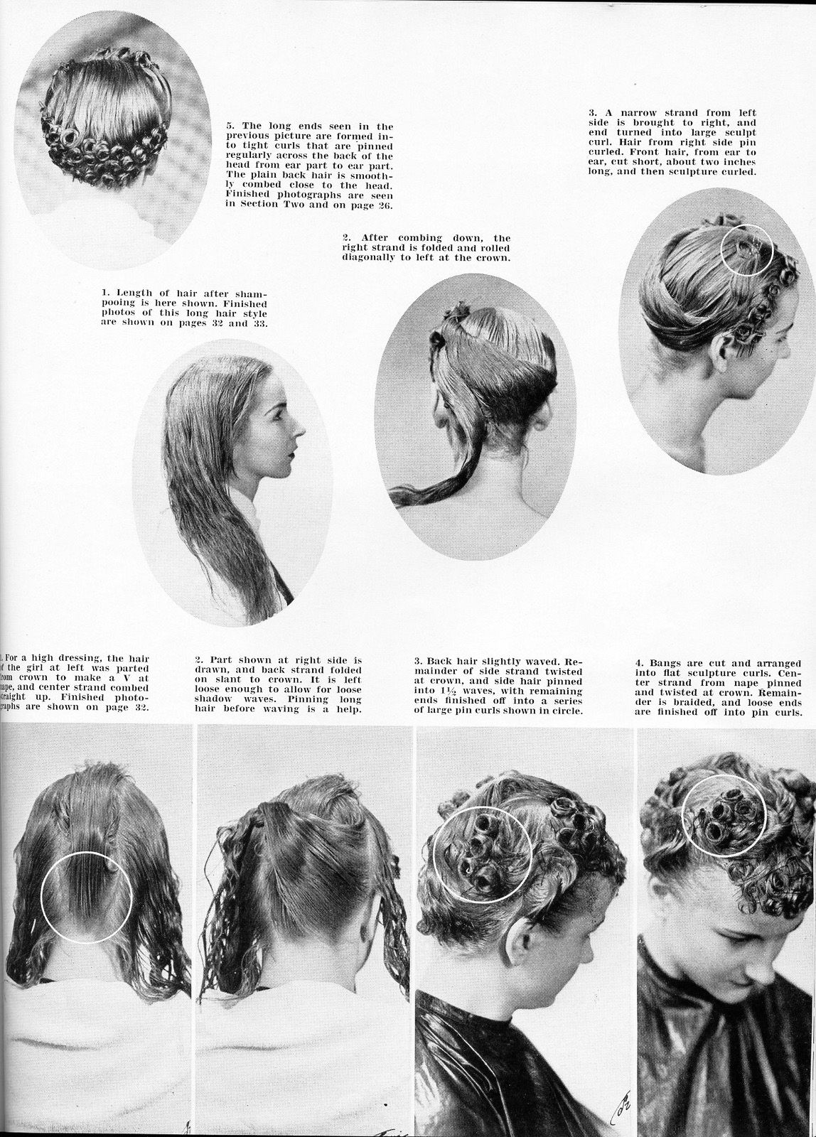 How To Do 1930s Hairstyles For Long Hair Images Amp Pictures
