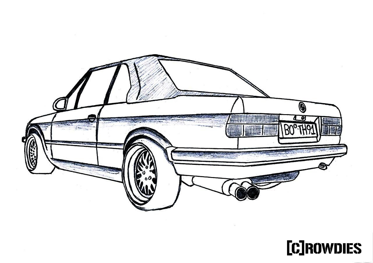 Drawing Zeichnung Tuning Dibujos Caricaturas