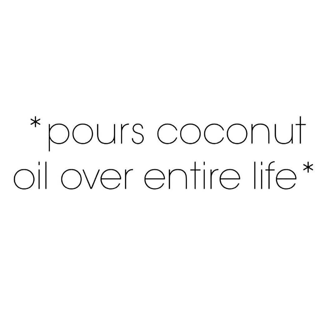Coconut oil - cooling hydrating and refreshing! Great for calming pitta and for all doshas in the summer. #ayurveda #livingbanyan #coconutoil #banyanphoto @halfmoonayurveda
