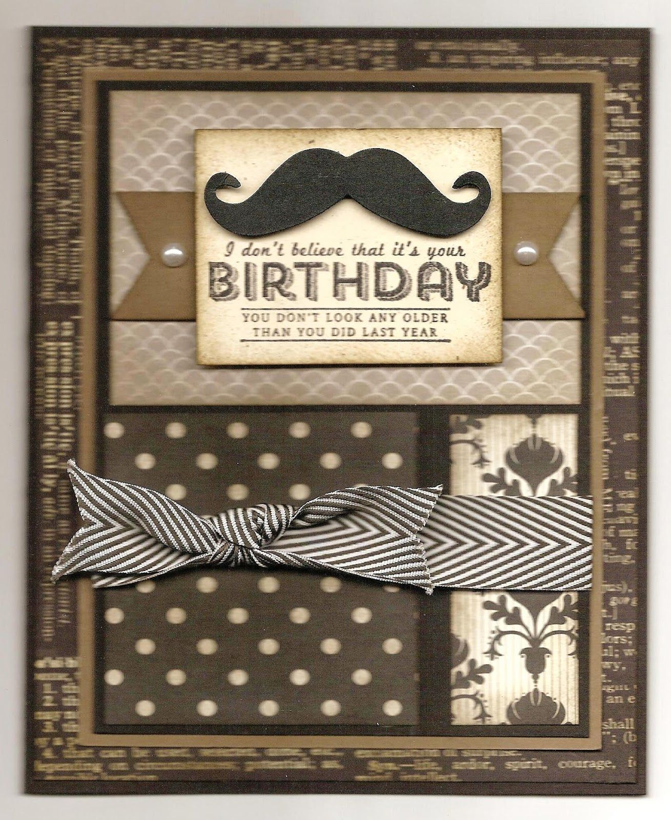 Chatterbox Creations Birthday Celebrations For An Old Boss Cards Handmade Masculine Cards Birthday Cards