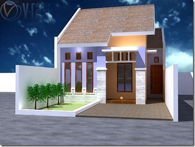model rumah tipe 36 satu lantai   rumah minimalis, desain