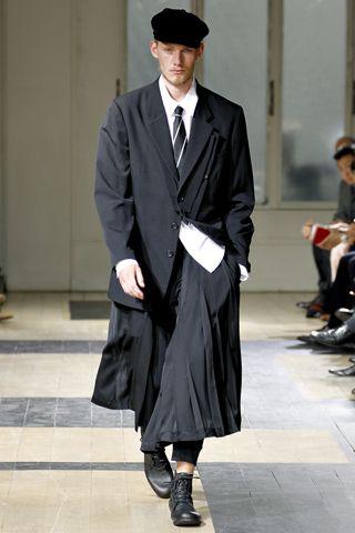 Yohji Yamamoto SS 2012