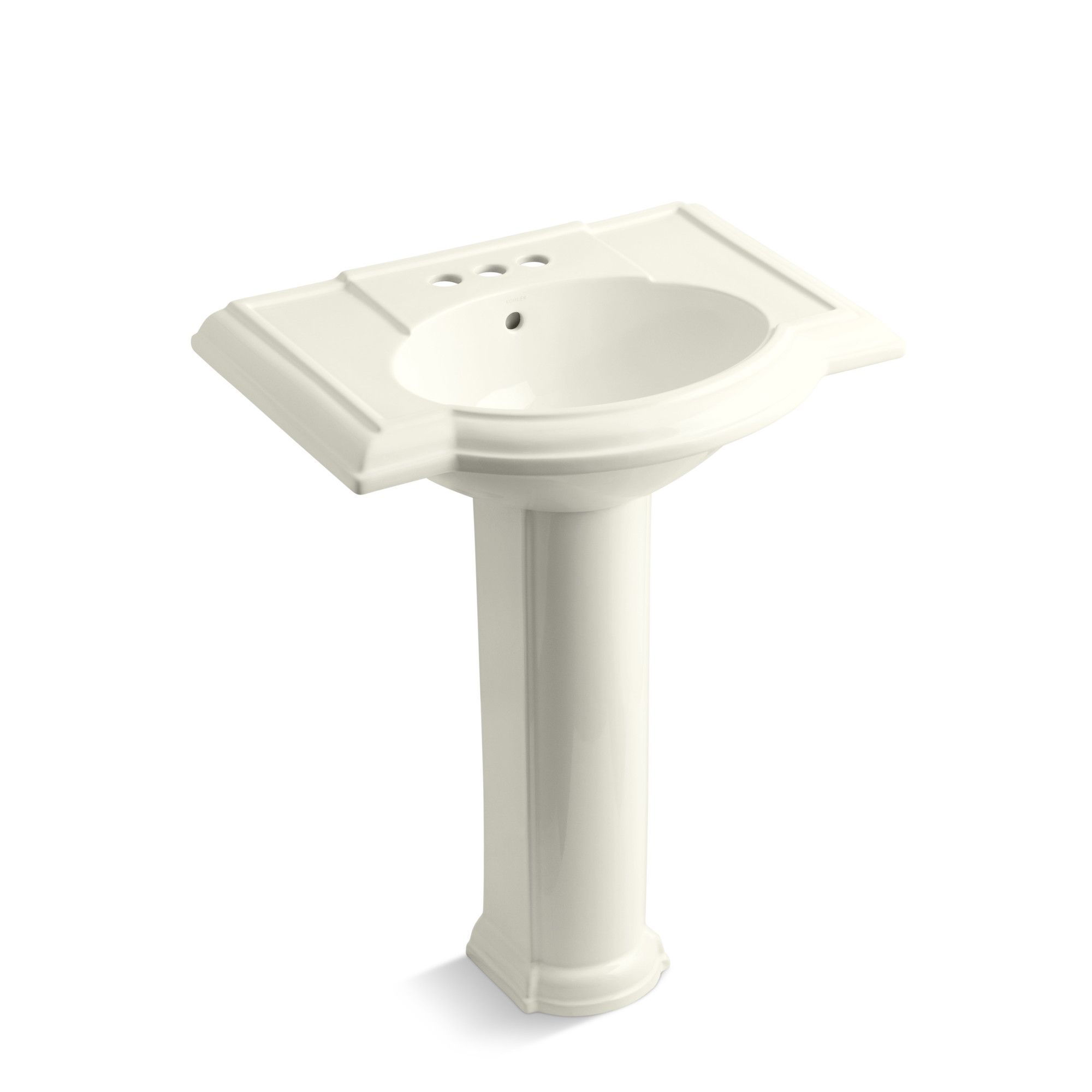 Devonshire 27 Pedestal Bathroom Sink With 4 Centerset Faucet