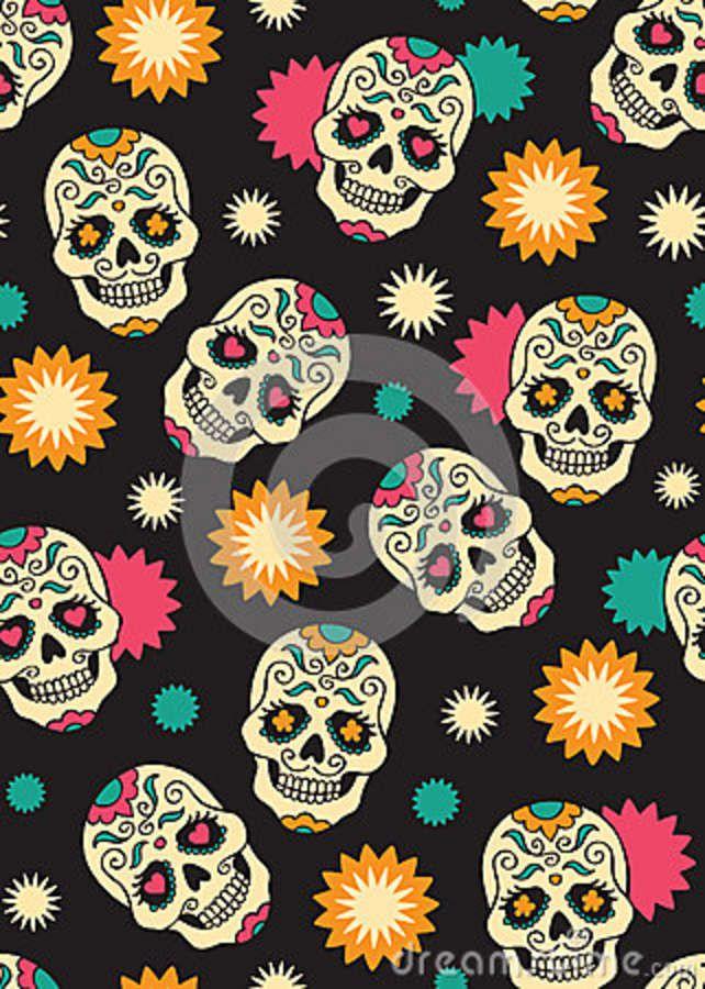 wallpaper additionally sugar skull - photo #4