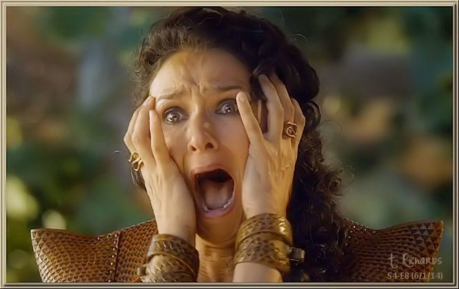 """S4-E8 - """"Ellaria, filled with anguish"""" by T. Richards"""