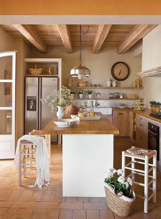 Holz in der Küche  #kuche - #der #holz #küche #kücheideeneinrichtung