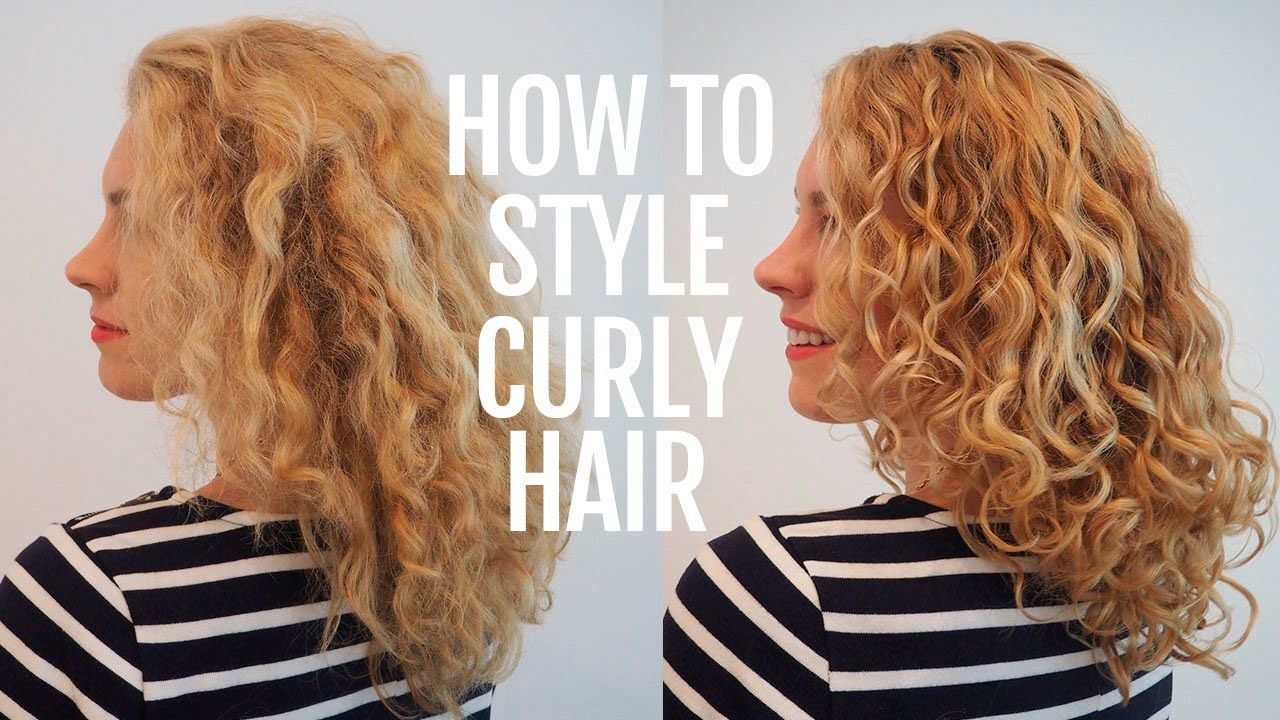 How To Style Curly Hair For Frizz Free Curls Frizz Free Curls Curly Hair Styles Manage Curly Hair