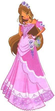 Winx Flora Dress Nature ClubFairy Formal Outfit Of xQtsdCBhr