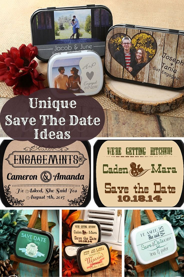 unique save the date | engagement party favor ideas | budget