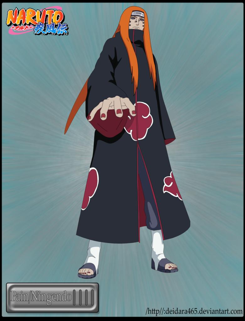 Naruto Six Paths Pain Ningendo