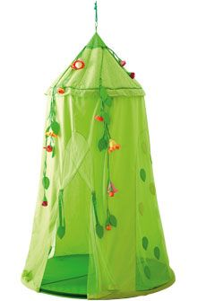 HABA - Erfinder für Kinder - Hanging tent Blossom Sky - Swing seats + Room tents - Children's room - Toys & Furniture