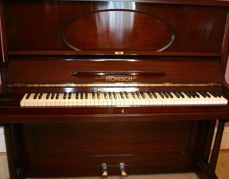 Ronisch Piano Brands Piano Upright Piano