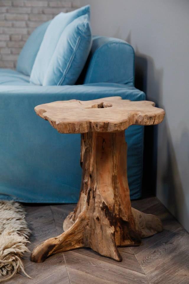 bout de canap table basse tronc d 39 arbre fleux tavoli tronchi pinterest bout de canap. Black Bedroom Furniture Sets. Home Design Ideas