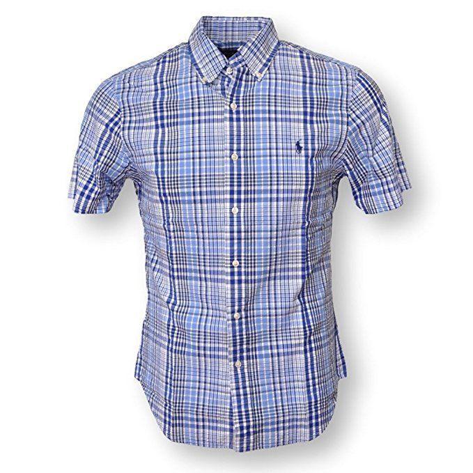 Details About Polo Ralph Lauren Men S Short Sleeve Plaid