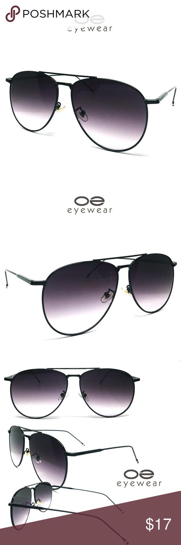c093abe87f O2 Eyewear 97025 Oversized Flat Aviator Sunglasses OVERSIZED Lightweight Premium  Aviator For Superior Comfort frame