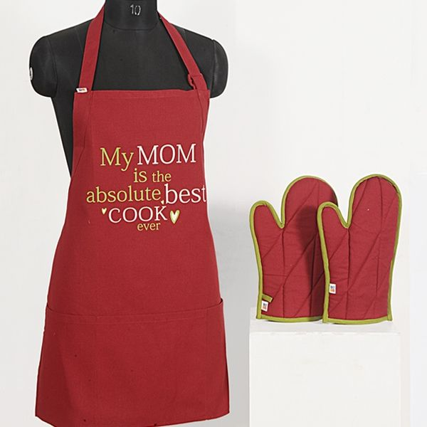 Mom Best Cook Graffiti Apron -Apg03 | Apron, Kitchen Aprons And