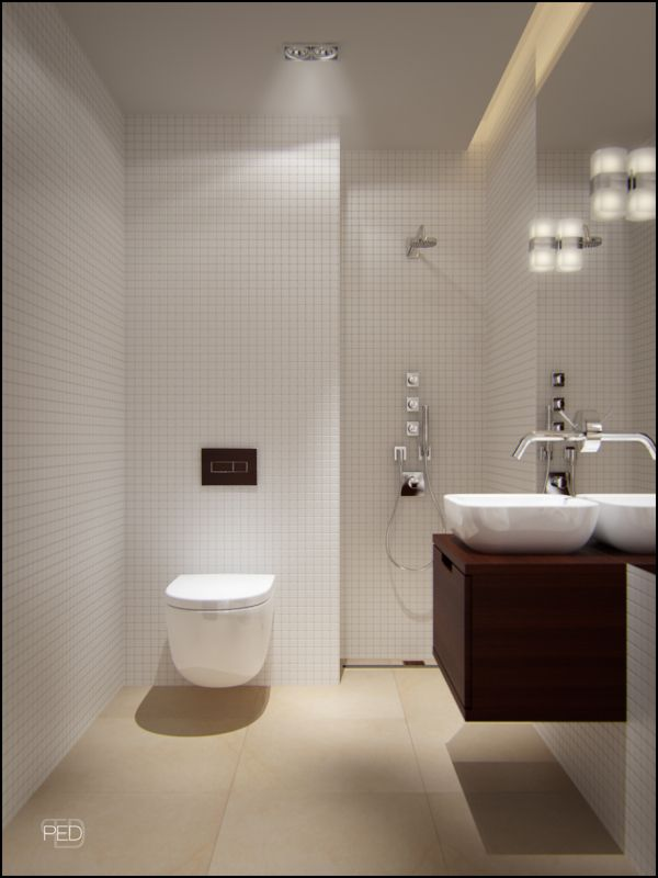 Great Small Bathrooms Unique A 40 Square Meter Flat With A Clever And Spacious Interior Décor . Review