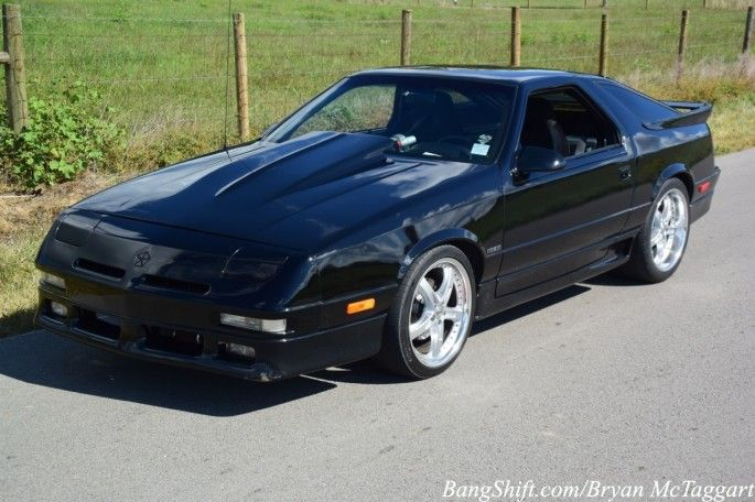 This 1990 Dodge Daytona Will Shut Down A The K Daytona Cracks With