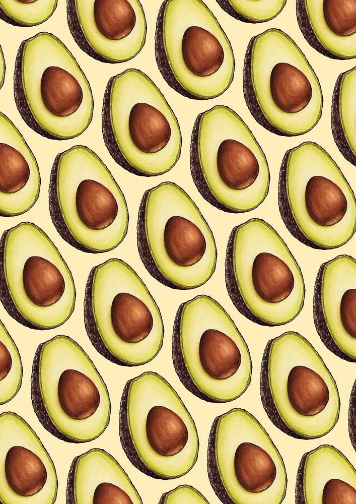 Avocado Pattern by Kelly Gilleran … Avocado art, Trendy