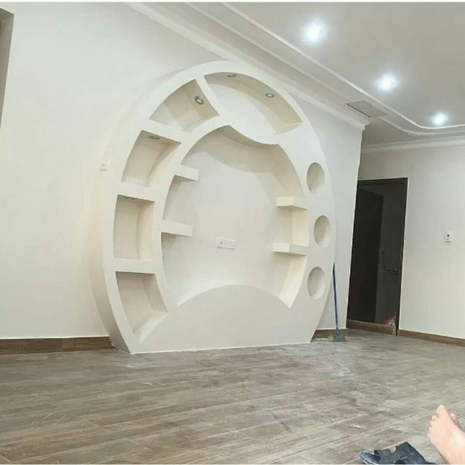 1 Gypsum Board Vs Wood Wall Tv Units 282 29 Jpg 960 960 Ceiling Design Modern Tv Wall Design House Ceiling Design