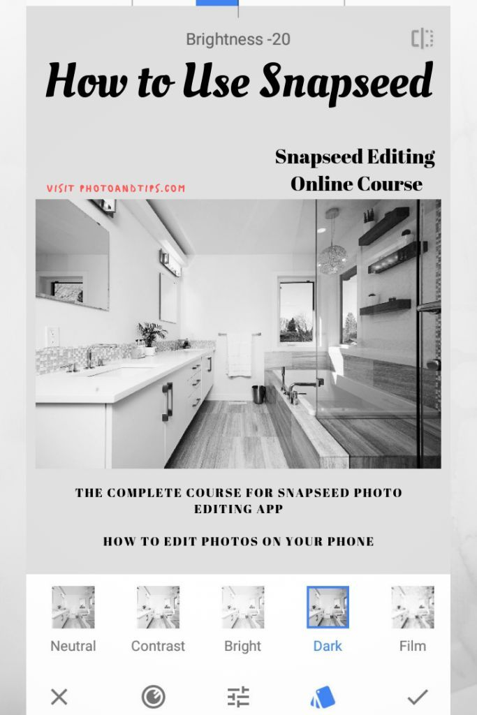Snapseed Photo Editing Course Review Photo editing