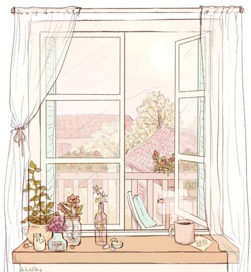 Home Design Ideas Buch: Window, Art, And Draw Image
