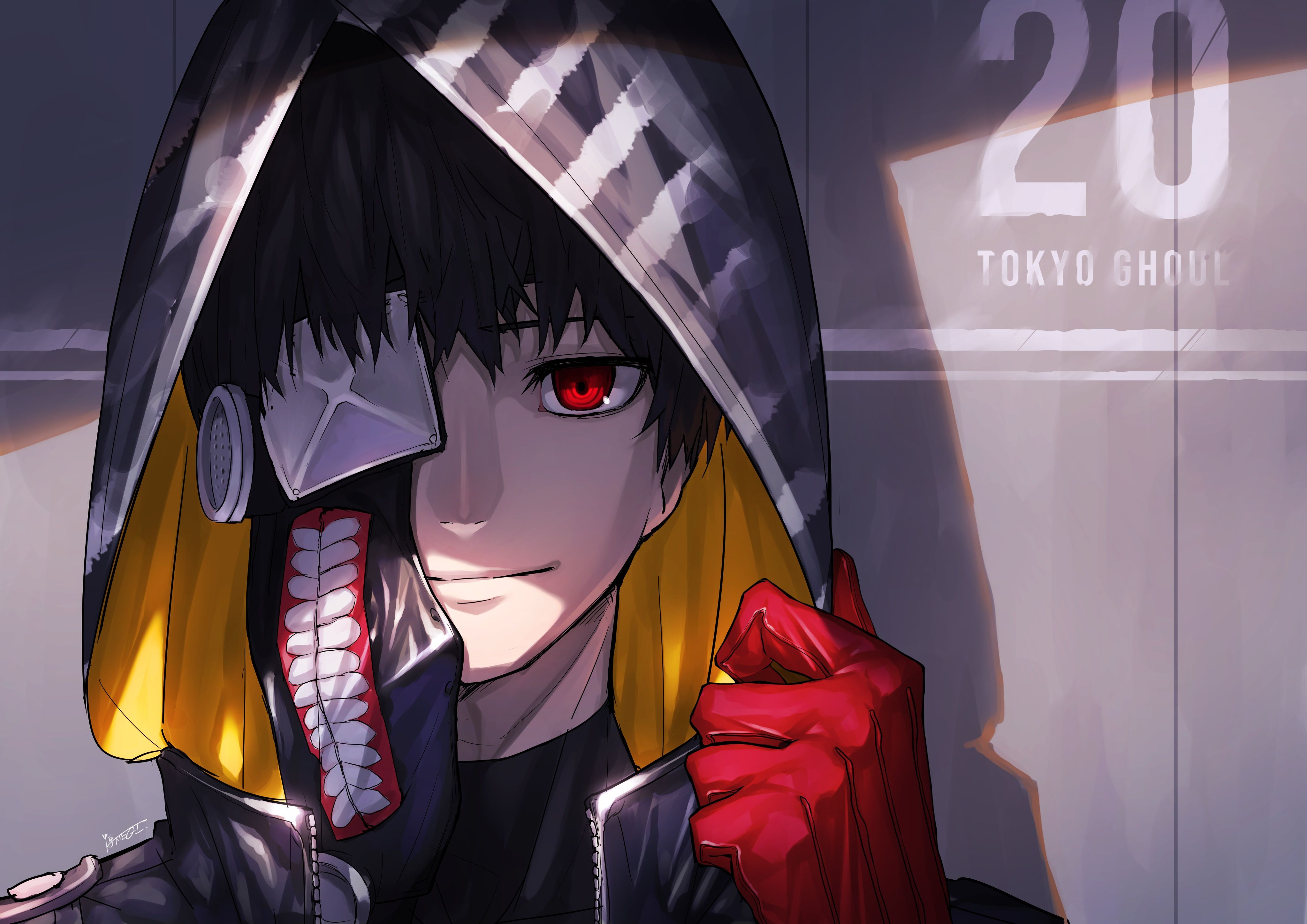 Pin On 4k Ultra Hd Tokyo Ghoul Wallpapers Download wallpaper anime ungu