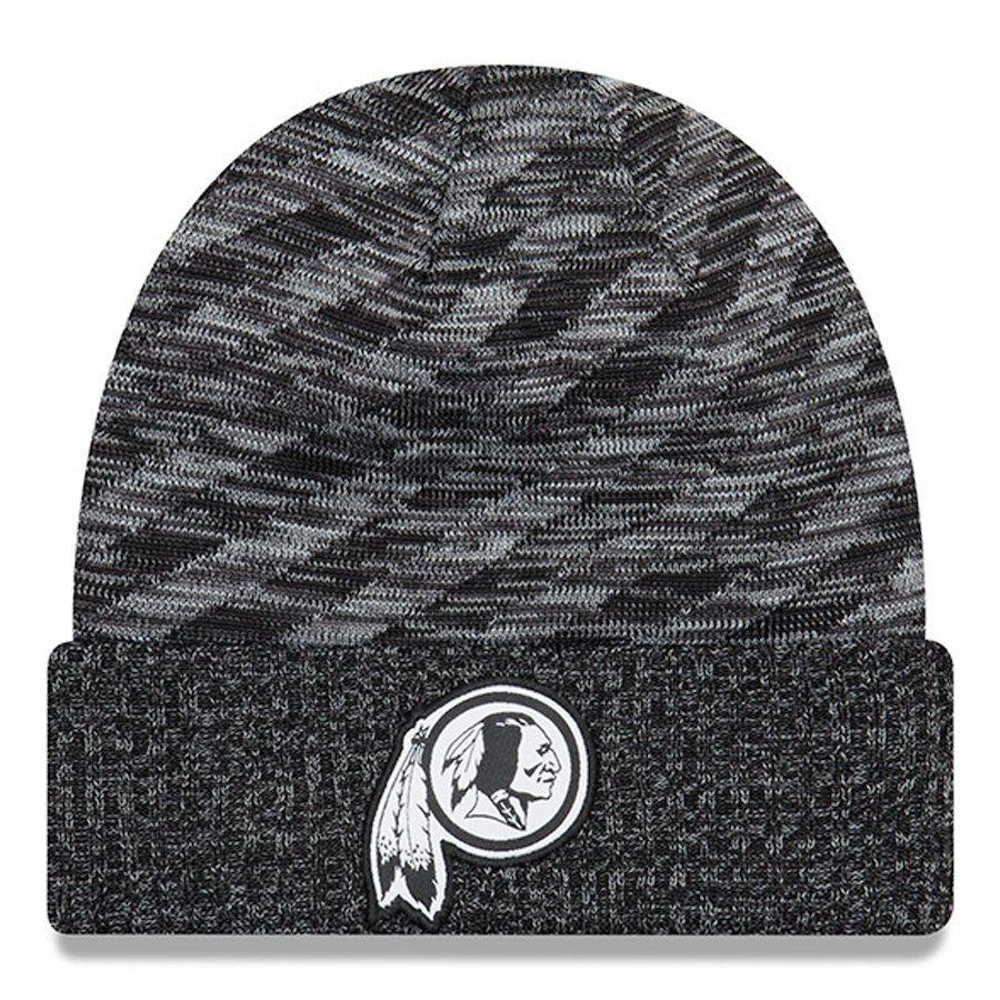 e6f129d97c9229 Men's Washington Redskins New Era Black 2018 NFL Sideline Cold Weather Black  TD Knit Hat, Your Price: $27.99