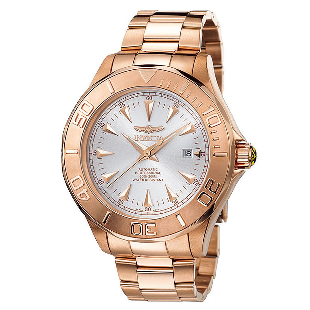 Watch Signature Automatic Ghost 7111 Rose Invicta Men's Ocean Gold NnOm8yv0wP