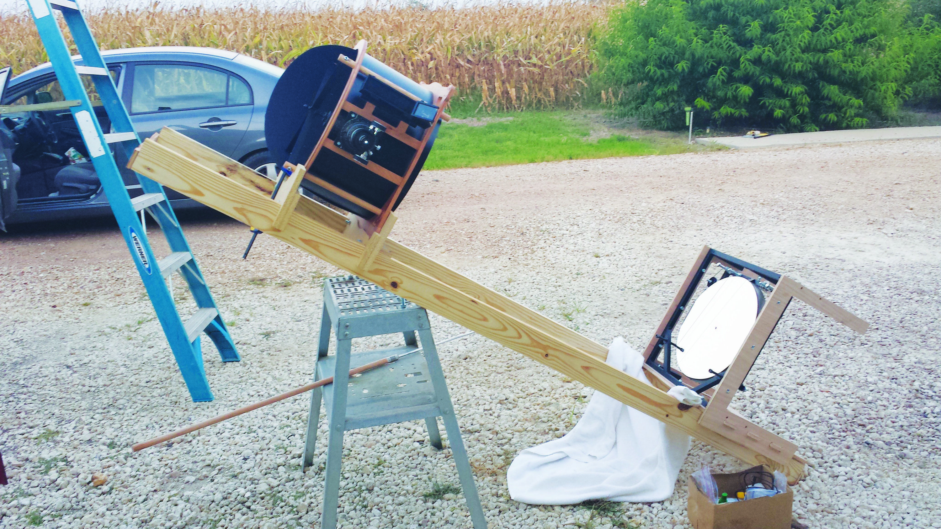 Amateur Telescope Builder