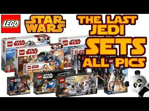 LEGO STAR WARS 2018 THE LAST JEDI SETS All Pics - Now Available in ...