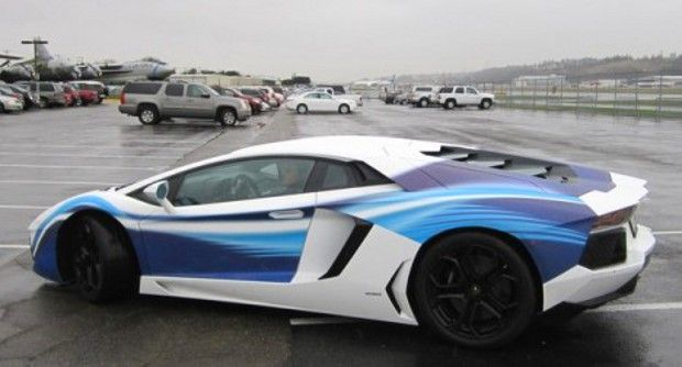 Lamborghini Aventador Boeing Dreamliner Edition