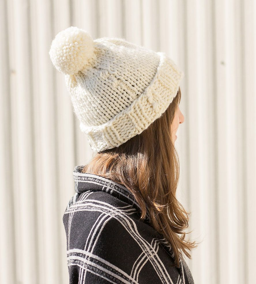 Endeavor flannel shirt  Endeavor Slouchy Pompom Knit Hat  Knit hats Fall fashion and Clothes