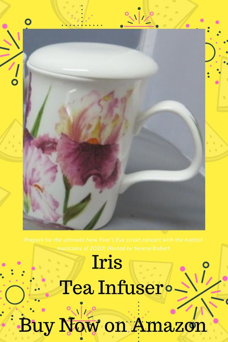 How to drink tea without tea leaves is easy using our Iris