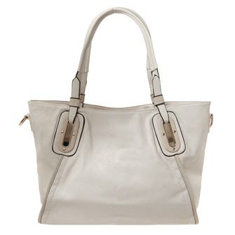 Cream Tote Bag