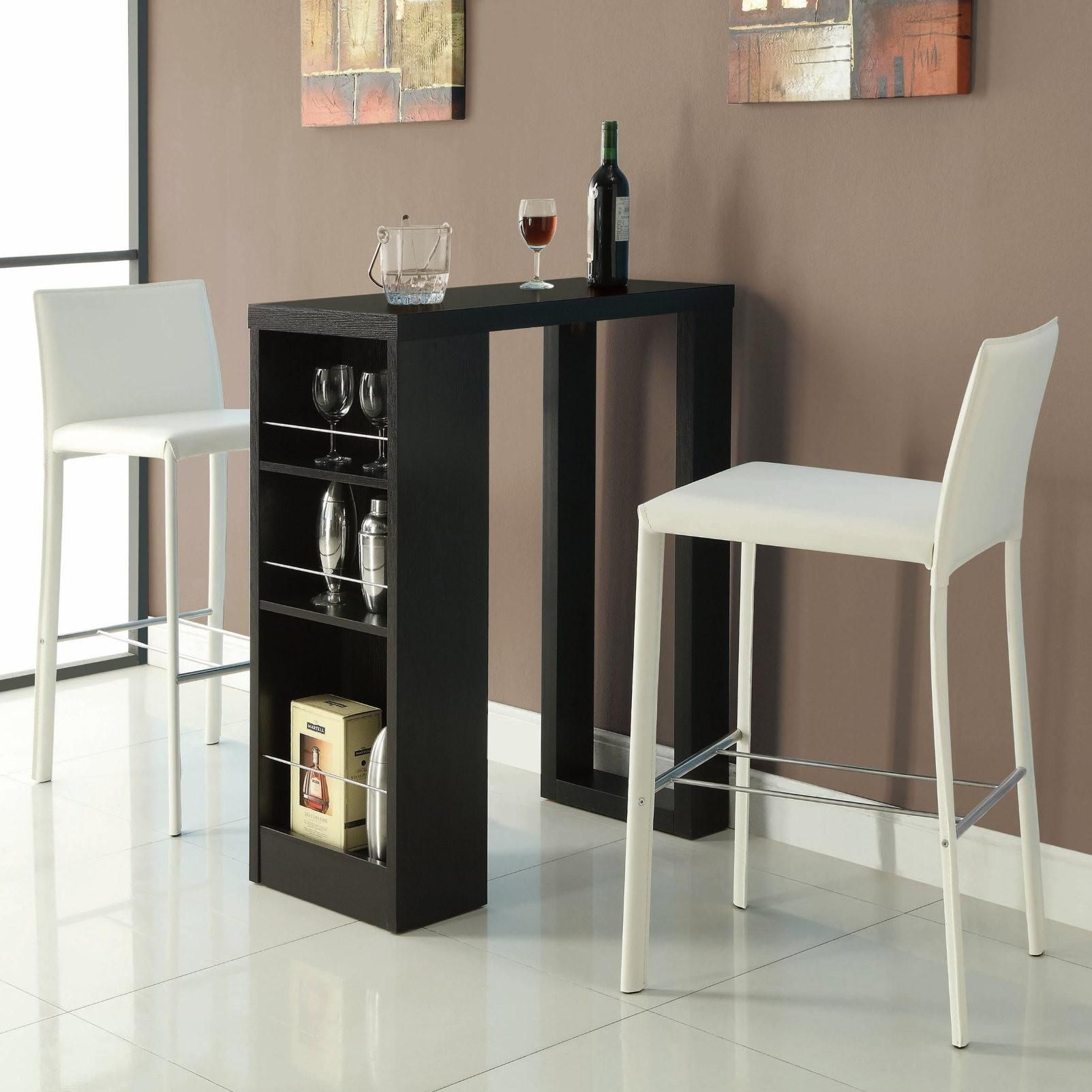 104028 Bar Units And Bar Tables Small Bar Table With Storage