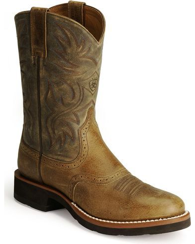 43fc681d7d9 Ariat Heritage Crepe Cowboy Boots - Round Toe in 2019 | Cowboy ...