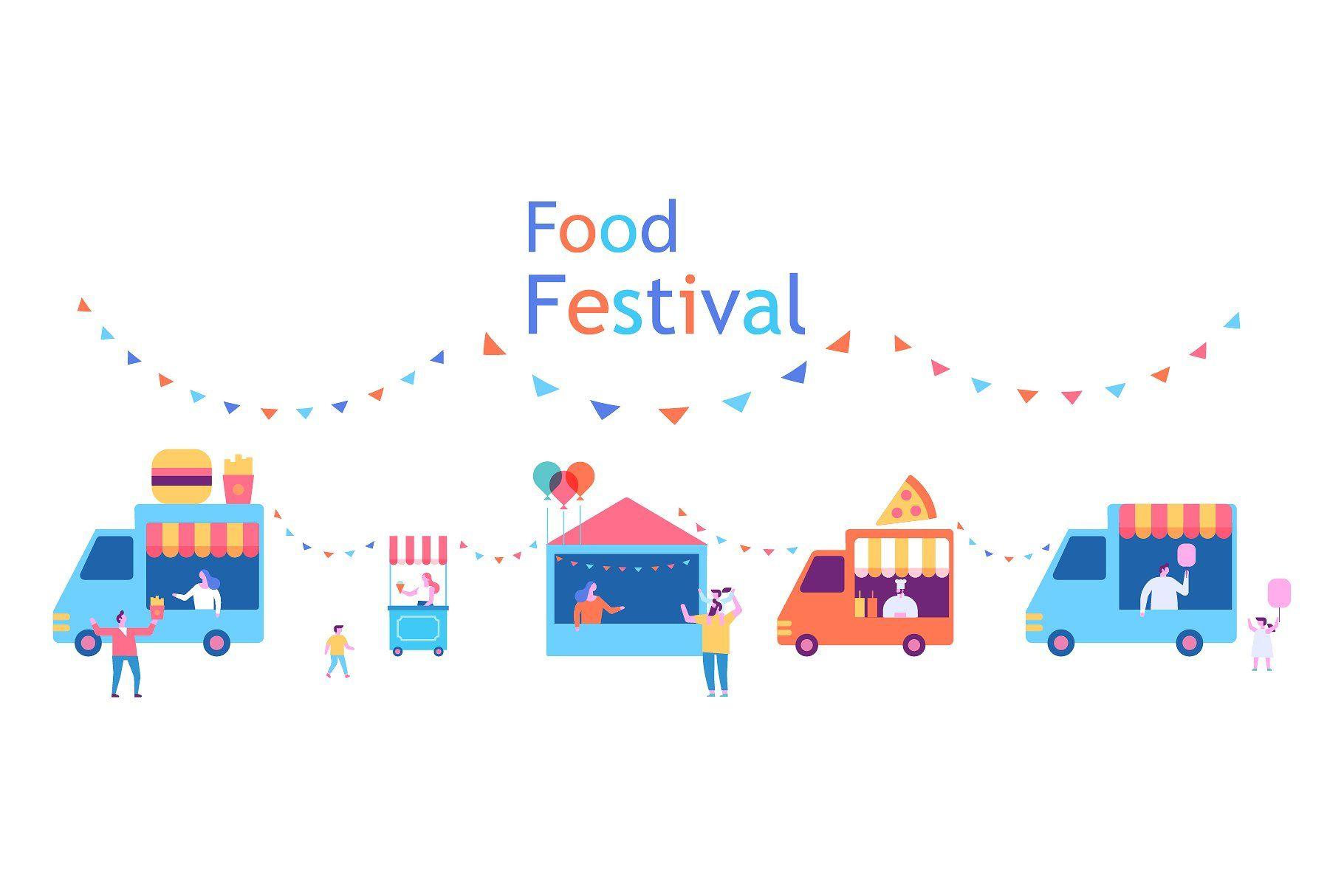 Summer Food Festival Background Food Festival Festival Background Summer Recipes