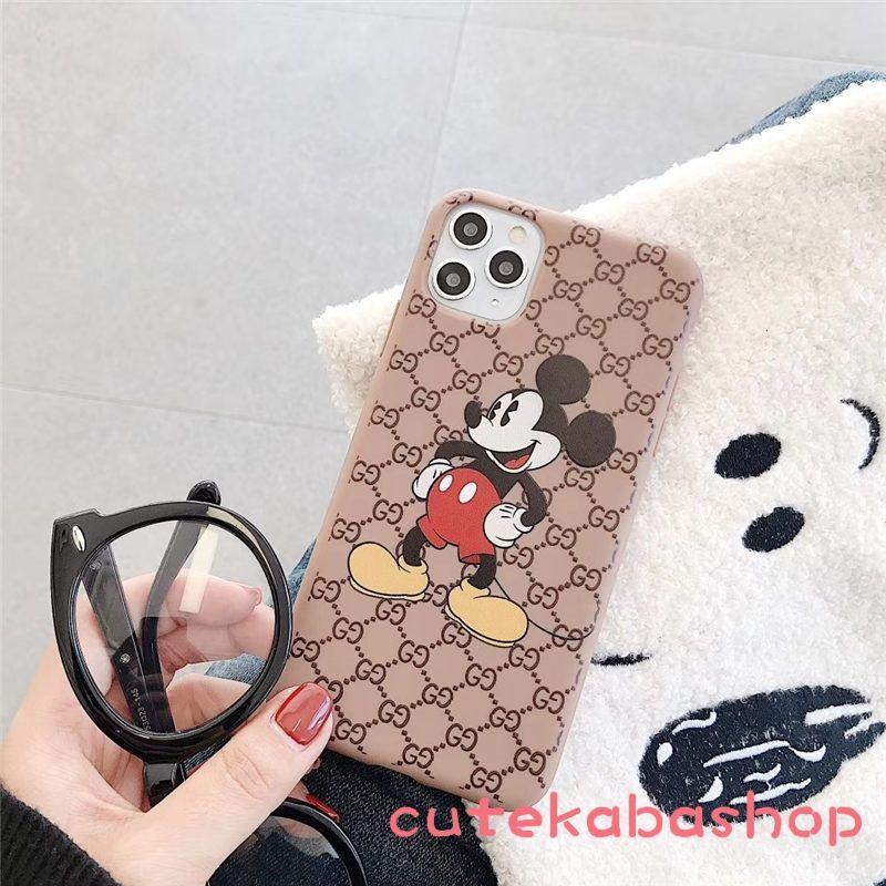 グッチ ディズニー Iphone 11 Pro ケース かわいい Gucci Iphonex スマホケース ミッキー Disney アイフォン Xr ケースシリコン Iphone8plus ケース ケース グッチ ディズニー Iphone