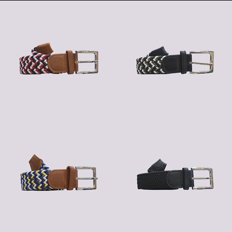 These fancy woven belts from @hone_accessories are back in stock online and in-store #eightyeightstore