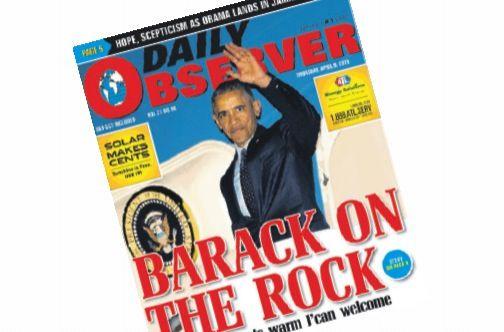He was in Jamaica - Columns - JamaicaObserver com | news /commentry