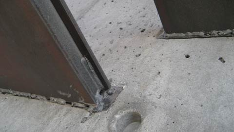 Best Cantilevered Steel Stair Off Concrete Wall Detail Weld In 400 x 300