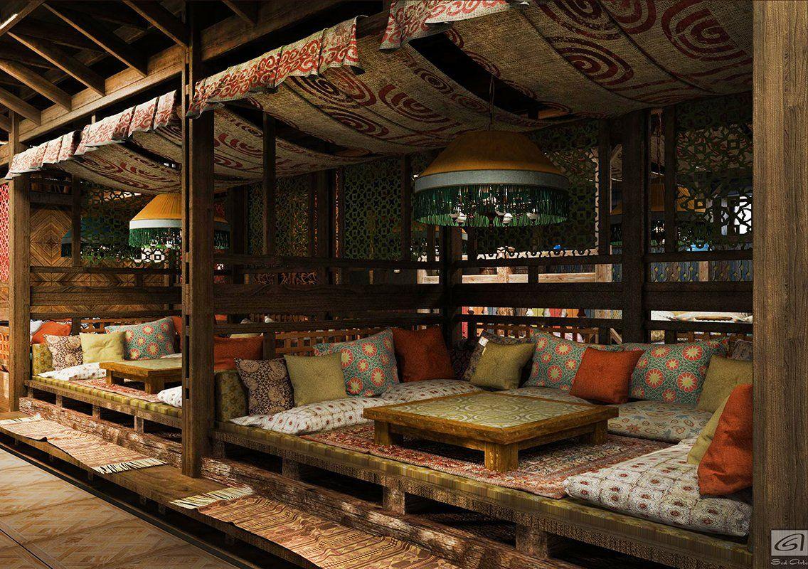 узбекский дизайн кафе фото статье ниже