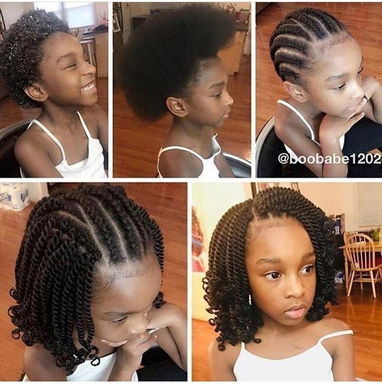 Bob Like Crochet For Madyson Crochetbraided Crochet Braid Styles For Kids We Came Up W In 2020 Kid Braid Styles Kids Hairstyles Crochet Braids Hairstyles For Kids